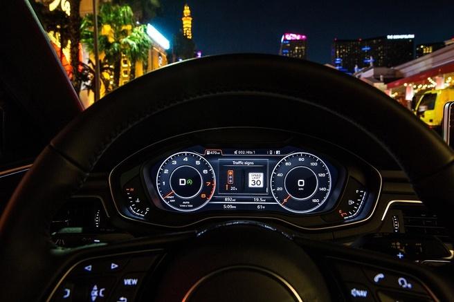 Audi Traffic system