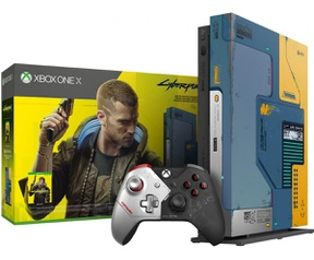 Microsoft Xbox One X Zwart