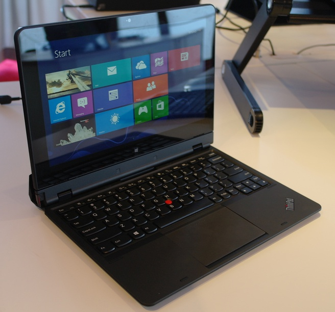 Lenovo Thinkpad Helix High End 116 Hybride Hands On Tweakers