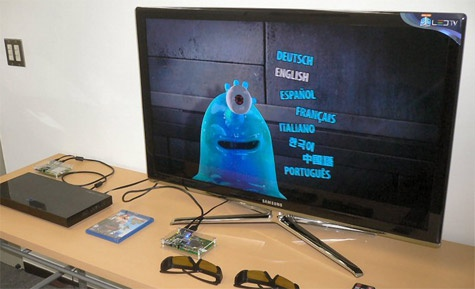 Amimon demonstratie 3d-1080p-video draadloos