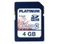 Goedkoopste Platinum SDHC 4GB Class 10