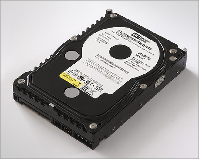 Western Digital Raptor WD740ADFD 74GB (groot, HQ)