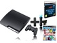 Goedkoopste Sony PlayStation 3 Slim 160GB + Move Starterpack + Sports Champions + After Hours Athletes Zwart