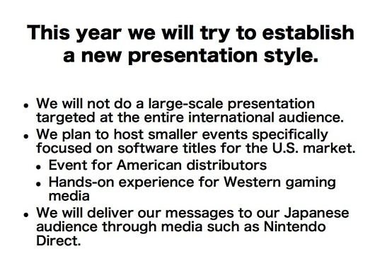 Nintendo plannen