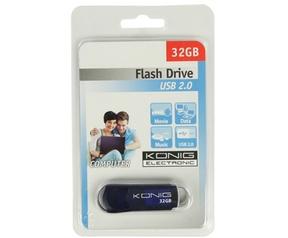 König USB2.0 16GB Blauw