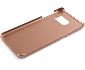 Guess 4G Aluminium Hard Case voor Samsung Galaxy S7 Edge - Roségoud Rosé Goud