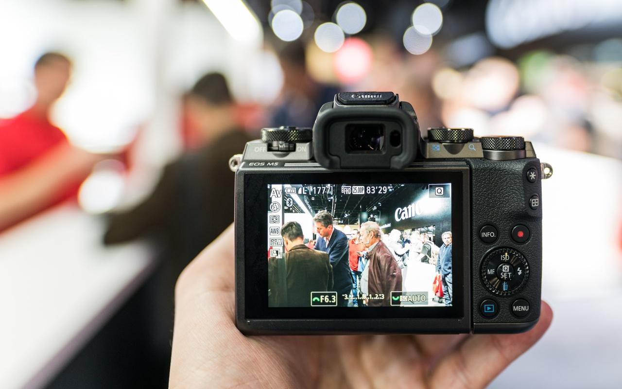 Canon EOS M5 Photokina