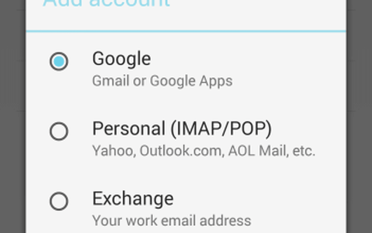Gmail voor Android 5.0