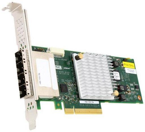 Adaptec HBA 1000-16e SAS PCIe 16 port ext. 12Gb/s (SGL)
