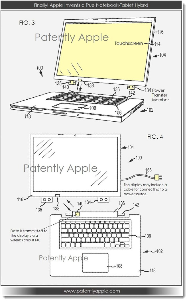Apple patent MacBook hybride