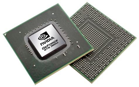 Nvidia GeForce 300M mobiele gpu