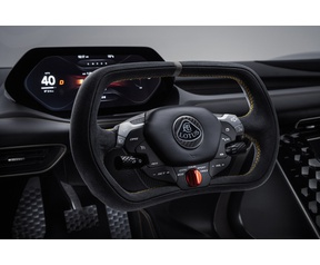 Lotus Evija interieur