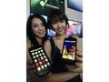 Samsung M100S met Android 2.1 en TouchWiz