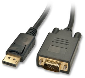 Lindy 2m DisplayPort/VGA Cable