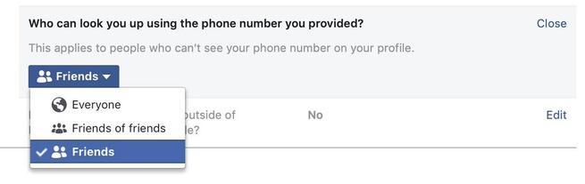 Facebook zoeken telefoonnummer