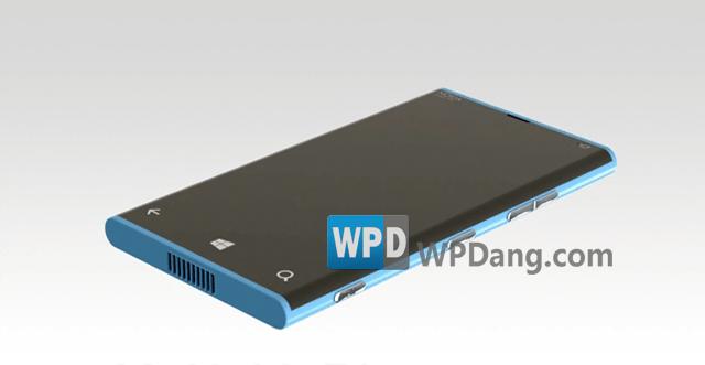 Mockup van WP8-toestel Nokia