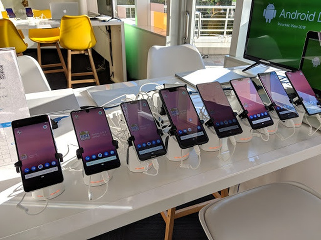 GSI op Android, november 2018
