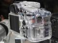 Sony Alpha A77 concept doorzichtig