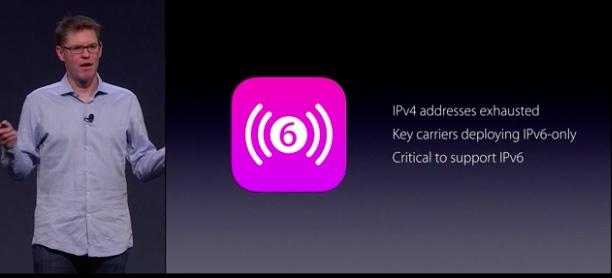 Apple ipv6