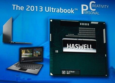 IDF 2011 Haswell ultrabooks