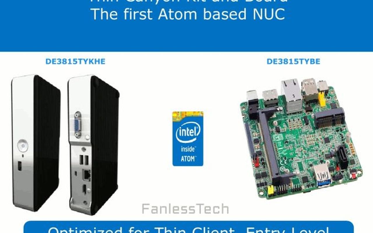 Intel NUC Broadwell roadmap