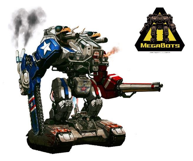 MegaBots MK.III conceptart
