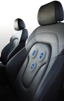 Sensoren in autostoel