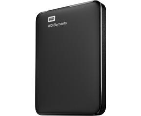 WD Elements Portable Storage 500GB Zwart