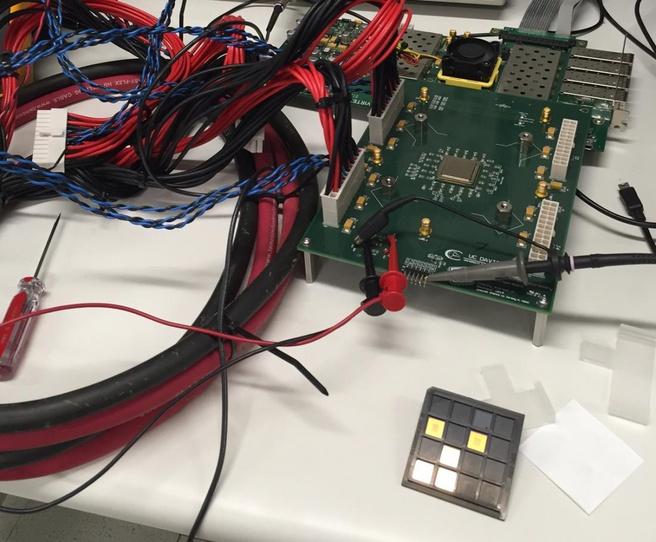 UC Davis KiloCore-chip