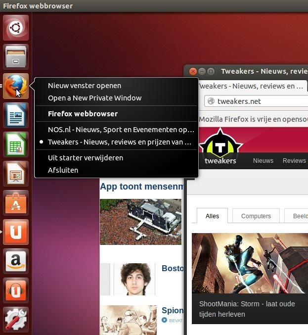 Ubuntu 13.04: Launcher