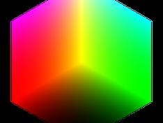 RGB kubus