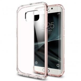 Spigen Ultra Hybrid Samsung Galaxy S7 edge Case - 556CS20035 - Rose Crystal