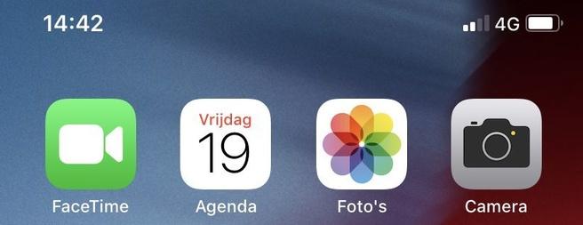 4g op Apple iPhone XR