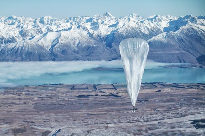 Google Loon ballonnen