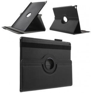 qMust Rotating 360 Case Apple iPad Pro - Folio hoes met stand - zwart