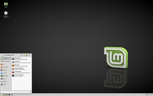 Linux Mint 18.0 met Xfce