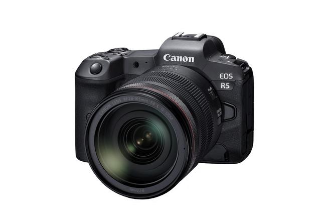 Canon EOS R5 en 100-500mm