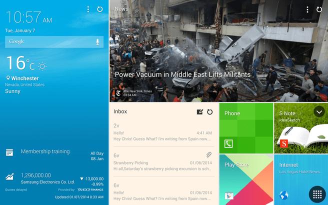 "Samsung NotePRO 12,2"" - screenshots"