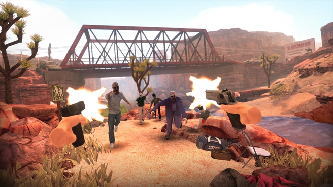 Oculus Quest-versie Arizona Sunshine
