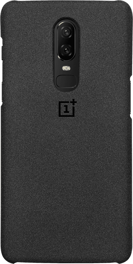 new product 63eb8 f312d OnePlus 6 Protective Case Sandstone Zwart