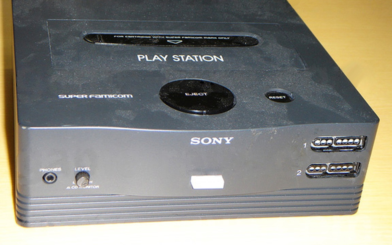 SNES PlayStation prototypes