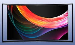 Samsungs gebogen oled-tv: contrastkampioen