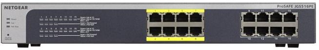 Netgear Prosafe JGS516PE