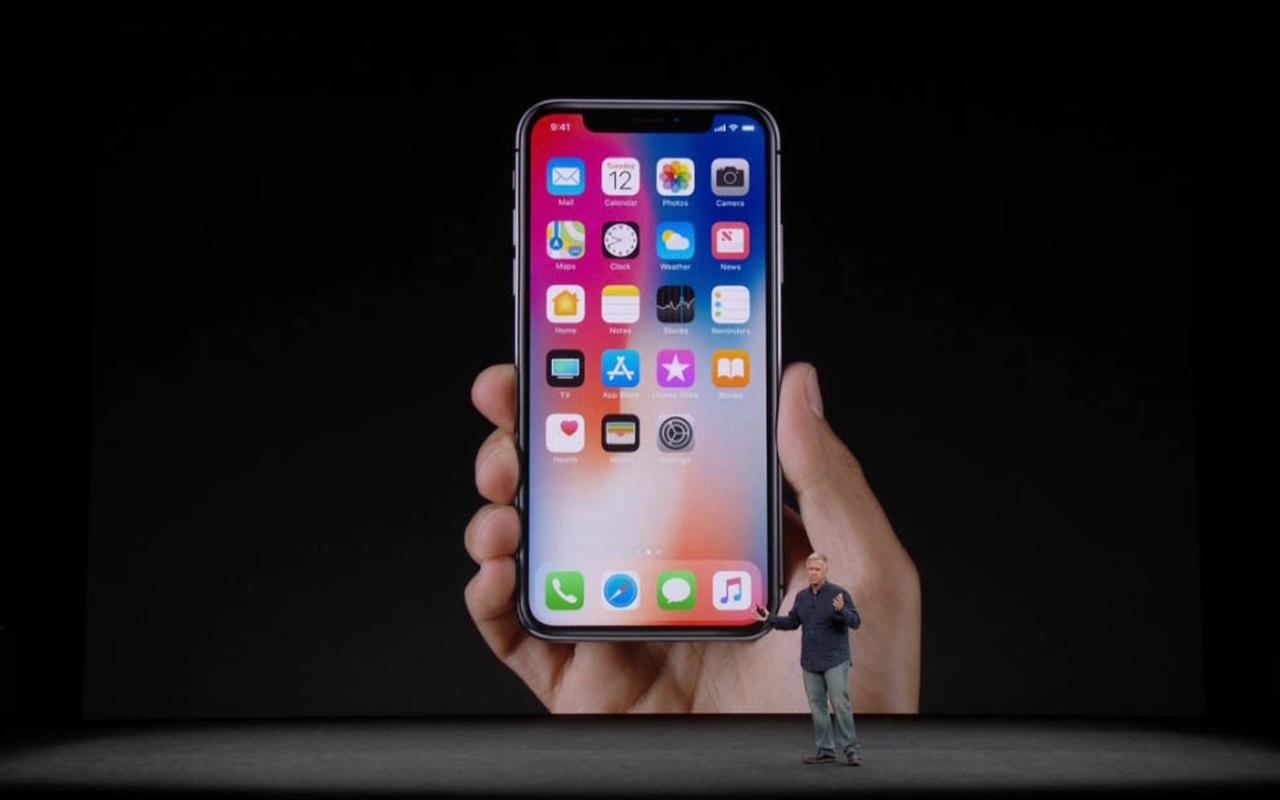 Apple iPhone X keynote