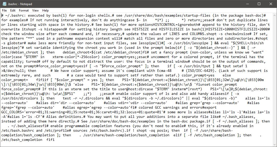 Notepad Krijgt Ondersteuning Voor Unix Achtige Regeleindes