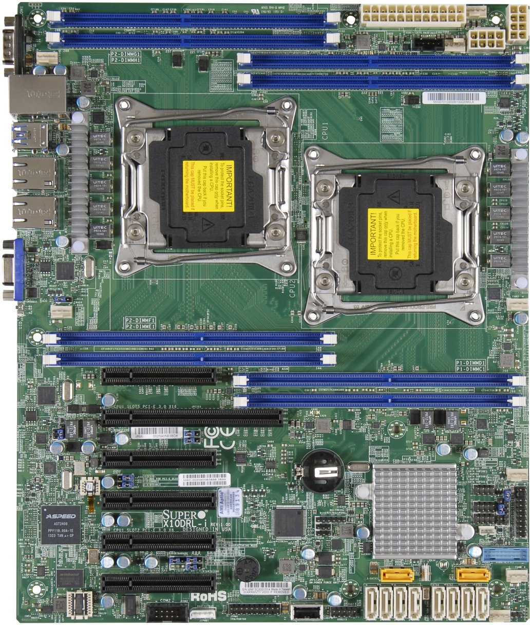 Supermicro X10DRL-i - ocf81 - Userreviews - Tweakers