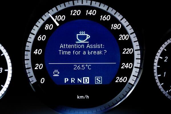 Attention Assist van Mercedes Benz