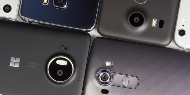 Smartphone camera's