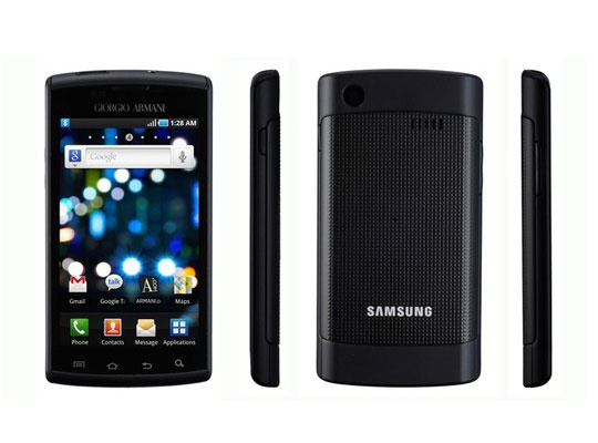 Samsung Galaxy S Armani