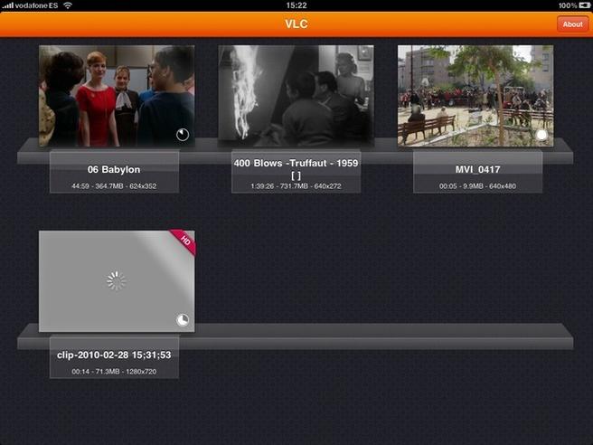 VLC voor iPad